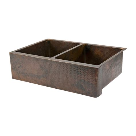shop premier copper products rubbed bronze sink