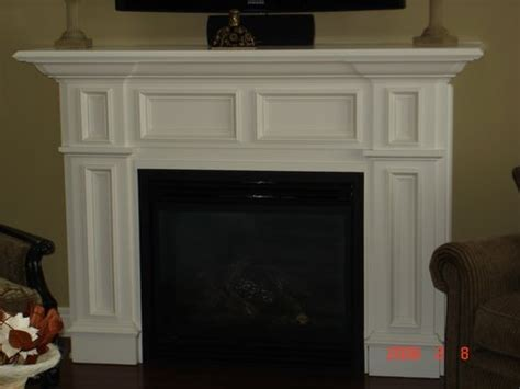 White Wood Fireplace Mantel by Custom Fireplace Mantels Serving Fort Erie Niagara