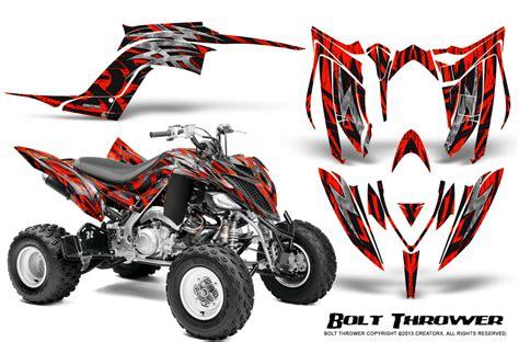Quad Aufkleber Kit by Yamaha Raptor 700 2013 2016 Graphics Kit Creatorx Decals
