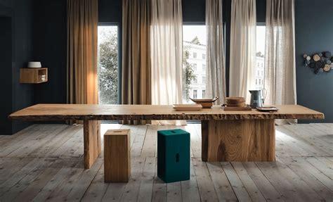 tavolo in legno naturale tavolo legno naturale mobili toson arredamenti su misura