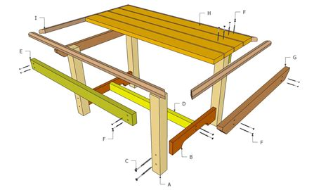 dining table bench plans outdoor dining table plans home decor interior exterior