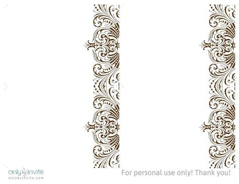lace templates for card 96 blank vintage wedding invitation templates free