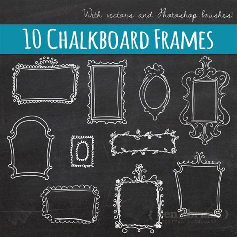 diy chalkboard effect in photoshop 335 best images about brushes png on