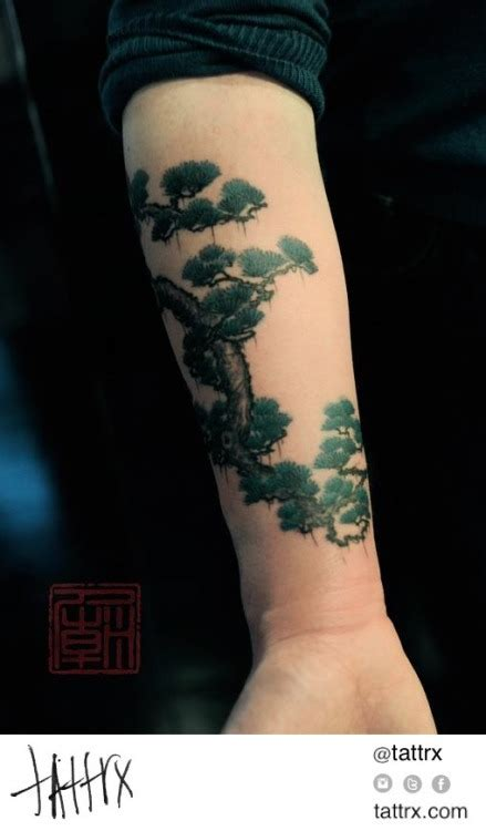 Tattoos Arm 5414 by Botanical On