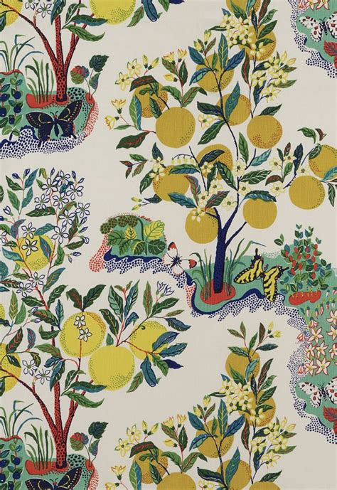 schumacher fabric fabric citrus garden in primary schumacher my board