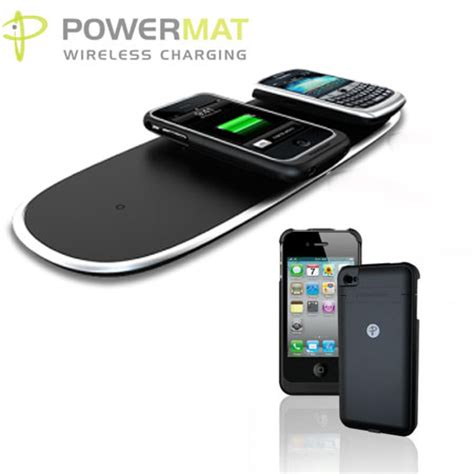 Iphone Wireless Charging Mat by Powermat Wireless Charge Pad And For Iphone 4