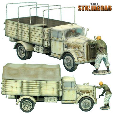 german opel blitz truck veh007 winter opel blitz truck 14th panzer division