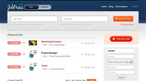 themes wordpress jobs big list of wordpress job board plugins job board