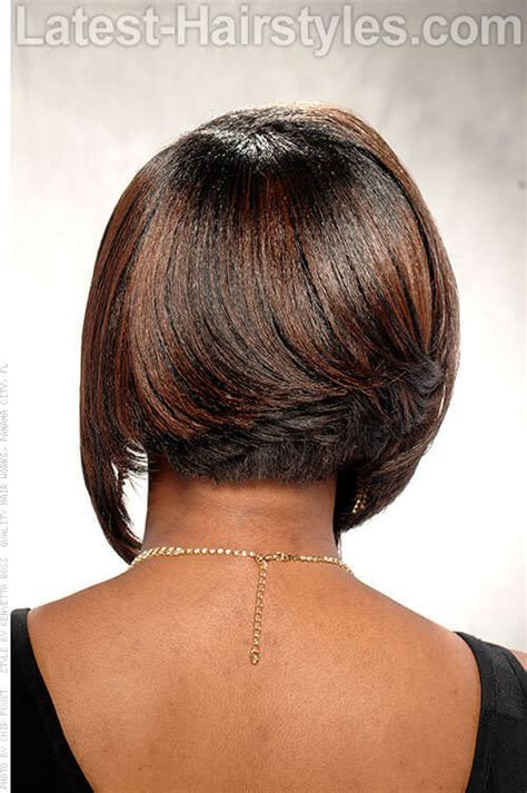 bob hair cuts show only the back show the back neckline of short haircuts