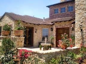 tuscan farmhouse plans hill country courtyard stunner