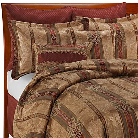 discontinued comforter sets croscill townhouse 8 piece complete bed ensemble king