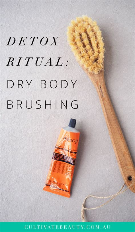 Detox Brush by Brushing Benefits A Detox Ritual To Read