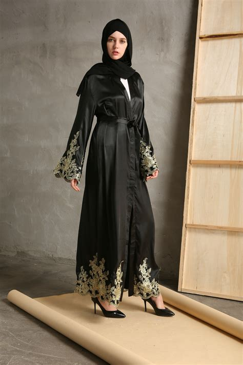 Jilbab Velvet Sequin Cantik 283 abaya jilbab tunic muslim dubai cardigan islamic cocktail maxi dress ebay