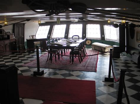 file captains cabin hms trincomalee geograph org uk
