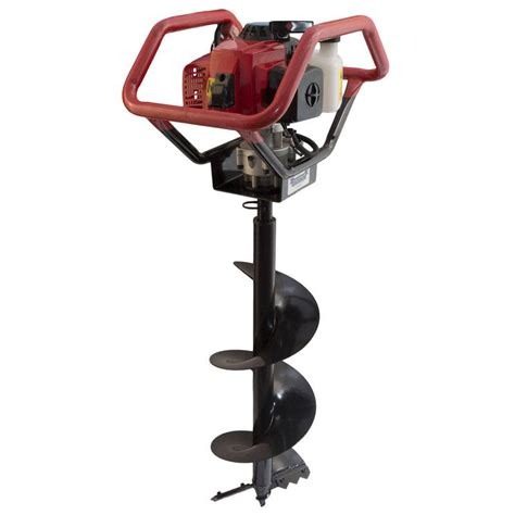 mac afric  cc earth auger drill hand held drive unit