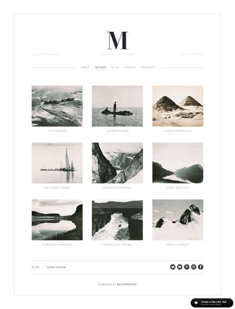 squarespace templates for bloggers montauk gallery jpg