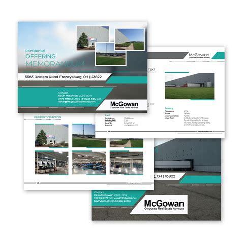 real estate offering memorandum template real estate realtor marketing tips social media