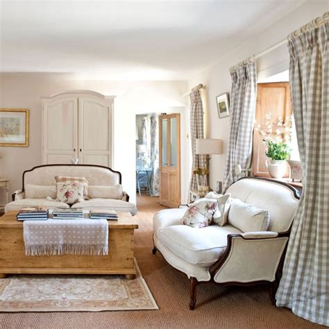 country chic living room add elegant french style