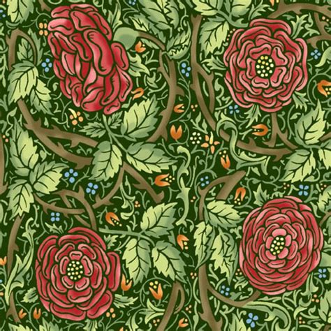 arts and crafts fabrics curtains morris meadows michele hill liberty arts and crafts border