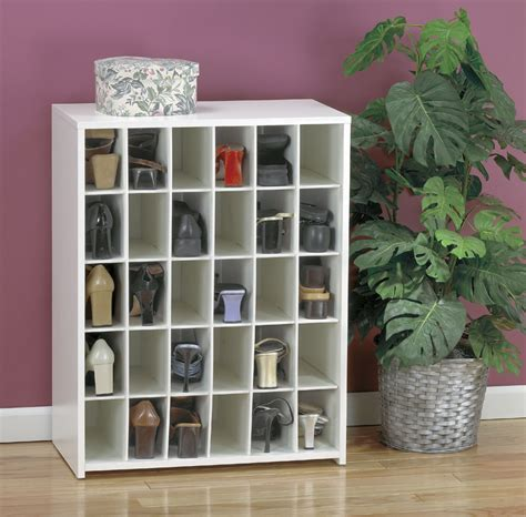 Shoe Rack Cubby Storage Unit by Shoe Cubbies And Storage Shoe Holders And Organizers