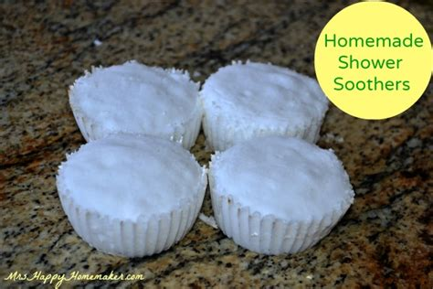 how to make shower soothers