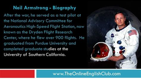 biography neil armstrong english english listening practice neil armstrong youtube