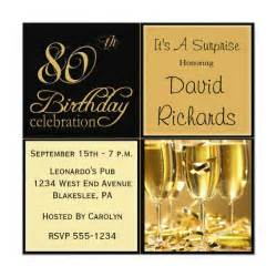 80th birthday invitations 80th birthday ideas