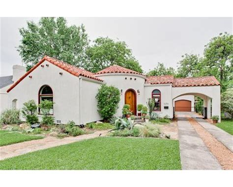 spanish house dallas lakewood tx home 1938 spanish revival bungalow in dallas texas mediterranean