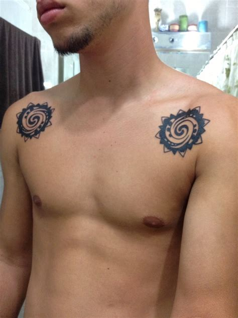 my own version of the borneo rose tattoo tattoos