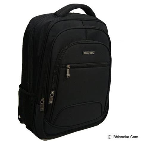 Ransel Hitam jual real polo tas ransel 5756 hitam murah bhinneka