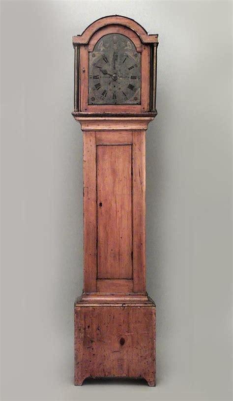 american country clockmechanical grandfather clock pine