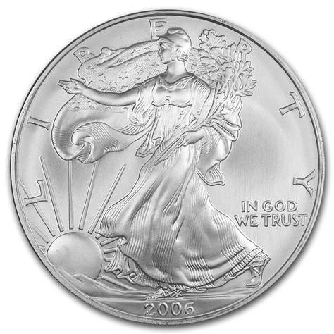 1 Oz Silver American Eagle Bu by 2006 1 Oz Silver American Eagle Bu Silver Eagles West