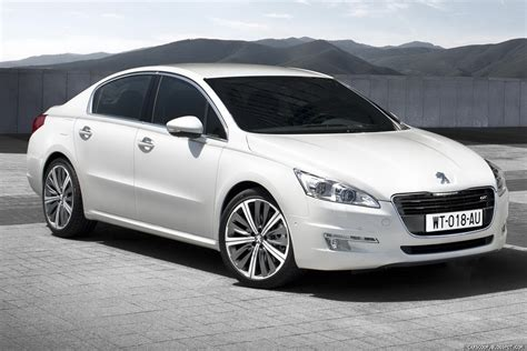 peugeot white new peugeot 508 first pictures and details autotribute