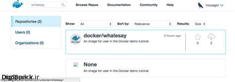 docker whale say tutorial معرفی و شروع کار با داکر docker درلینوکس نصب داکر