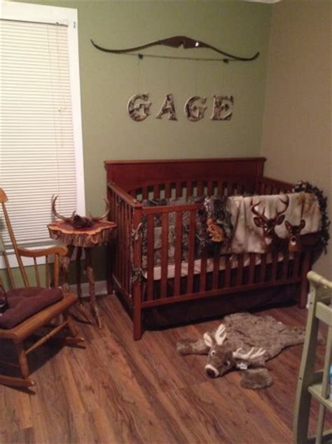 deer themed nursery the camo letters
