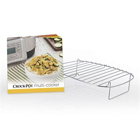 crock pot 6 quart 5 in 1 multi cooker with non stick inner