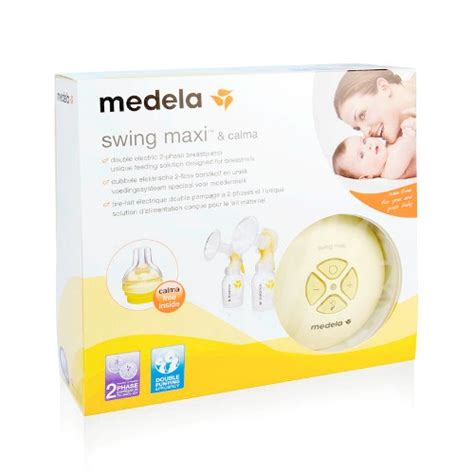 what size breast shield comes with medela swing swing maxi double electric breast pump medela