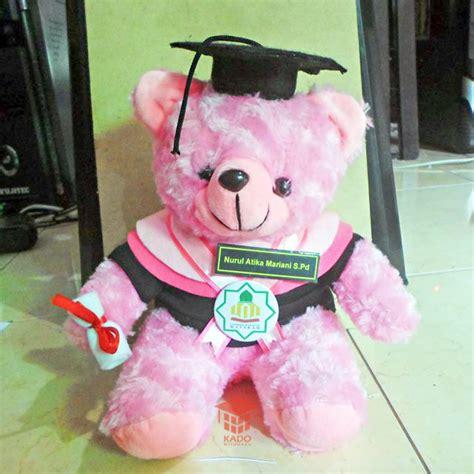 Boneka Wisuda Pink By Rfdshop boneka wisuda pink uin mataram kado wisudaku