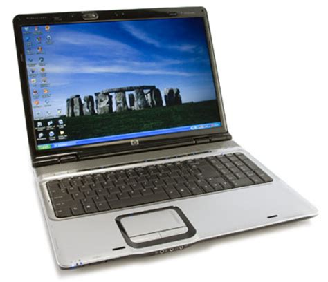 hp pavilion dv9000t – media center laptop with hd dvd