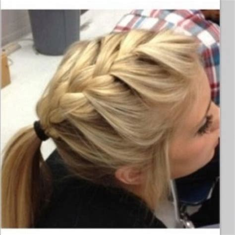 easy hairstyles on pinterest easy french braid hairstyles