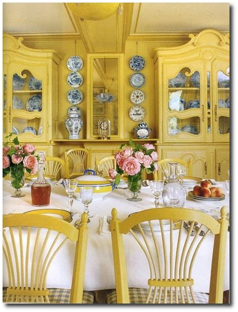 yellow dining rooms 1000 images about monet s gardens giverny on pinterest