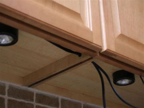 How To Install Lights Kitchen Cabinets Installing Under Cabinet Lighting Hgtv