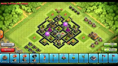 clash of clans th7 farming base best town hall 7 defense strategy clash of clans coc town hall 7 th7 farming base