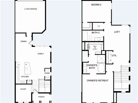 David Weekly Floor Plans by Spring Lake At Celebration New Homes By David Weekley
