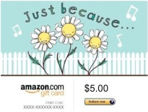 5 Dollar Amazon Gift Card - free amazon 5 dollar gift card code low gin gift cards listia com auctions for