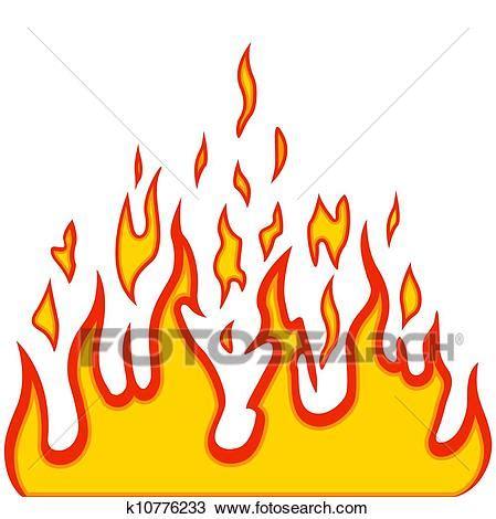 l flame clipart clipart brulure flamme br 251 ler vecteur fond k10776233