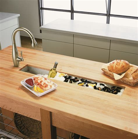 Trough Sink Kitchen Kohler Undertone 43 Quot Undercounter Trough Sink Kohler Pinterest Trough Sink Sinks And