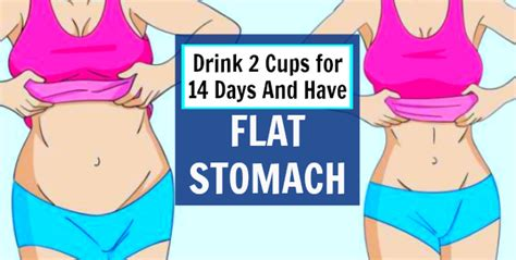 Flat Stomach Detox Drink Grapefruit by Drink 2 Cups A Day For 14 Days And A Flat Stomach