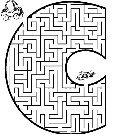 coloring pages mazes az coloring pages