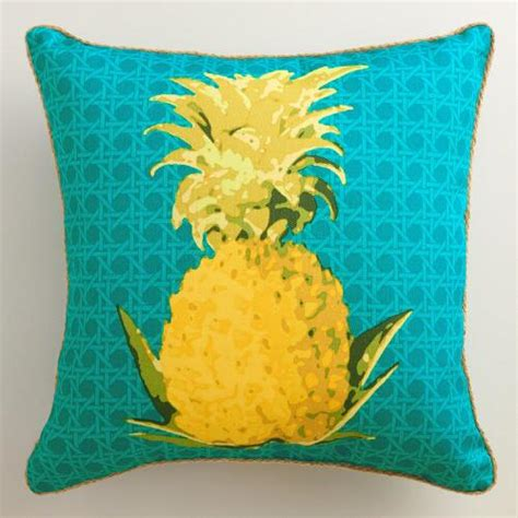 Pineapple Throw Pillow by Pineapple Outdoor Throw Pillow World Market
